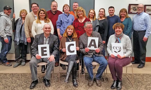 photo of ECA 2019 board of directors