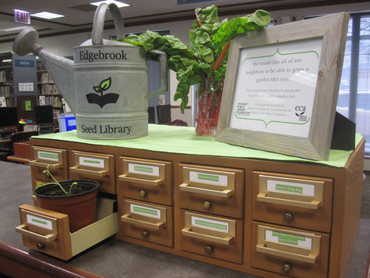 photo of seed library